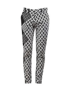 Black & White Men's skinny leg trousers - OHEMA OHENE AFRICAN INSPIRED FASHION - 1