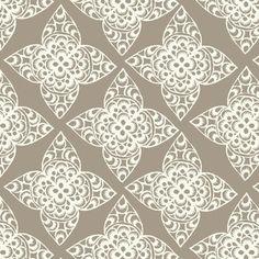 Jane Austin Faire  Ty Pennington - Impressions Home Dec - Lace in Taupe