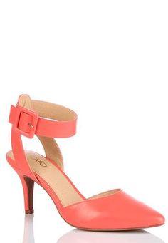 Cato Fashions Ankle Cuff Pumps #CatoFashions