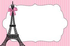 Kit digital para impressão tema Paris