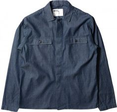 MARGARET HOWELL - MHL WORK SHIRT - SHIRTS - MEN