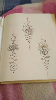 Tattoo ideas #unalome #om #flordeloto #infinity