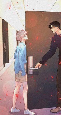 Anime Bl, Anime Chibi, Anime Guys, 19 Days Characters, Male Manga, Cute Laptop Wallpaper, Anime Friendship, Anime Crying, Manga Collection