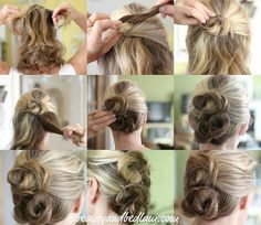 Cute hair ideas--if I ever venture beyond a pony tail!