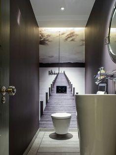 Het ruimte effect voor kleine kamers in deze foto ...
