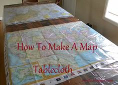 We are doing world geography this fall, so revisiting this map tablecloth will be necessary!