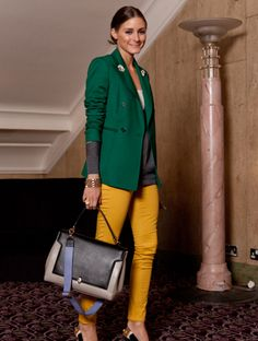 Anyahindmarch  SS13 Bathurst Soft Satchel in Grey  Olivia Palermo