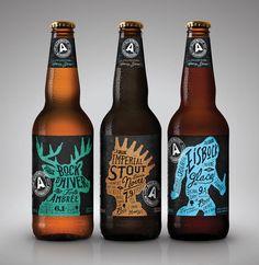 Nouveau design pour les bières de l'Alchimiste (Montréal) : je surkiffe !