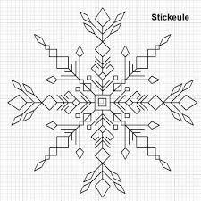Image result for blackwork snowflake patterns