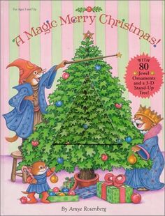 A #MagicMerryChristmas! (Book and 3-D Stand Up Tree)