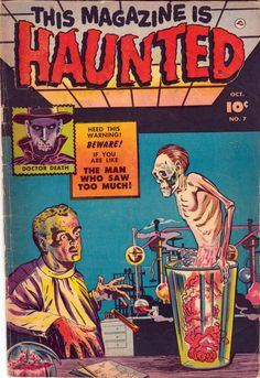 Comic Book Cover For This Magazine Is Haunted v2 #7