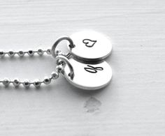 Letter q Necklace Tiny Initial Necklace Small by GirlBurkeStudios, $30.00