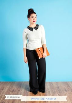 Book Club Hostess Sweater, #ModCloth