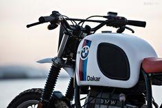 BMW Paris Dakar replica by the custom motorcycle builder Svako.