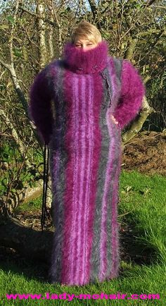 KID Mohair  FUZZY SWEATER  STUMBLE DRESS lila grey  L-XXL de.picclick.com