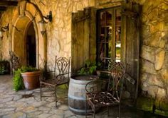 Love the tuscan style.  And the wine barrel is a great touch.   Wanna incorporate wine barrels into my decor and my landscaping. -Shiloh
