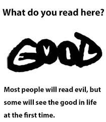 I read good the first time I saw it