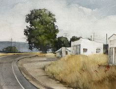 artist joseph alleman-watercolor: