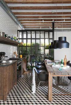 kitchen - industrial