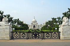 The Victoria Memorial, officially the Victoria Memorial Hall, is a memorial building dedicated to Victoria, Empress of India, which is located in Kolkata, India – the capital of West Bengal and a former capital of British India.