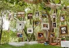 Fotos dos noivos na decoração: opções diferentes para fugir das retrospectivas