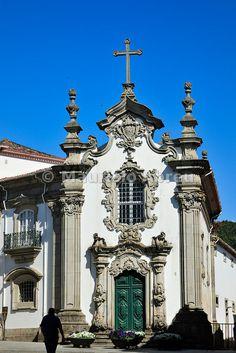 Malheiras chapel. Viana do Castelo, Portugal