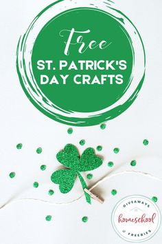 Kids Learning Activities, Craft Activities, St Patrick's Day Crafts, Fun Crafts, Kids Email, Reading Tracker, How To Start Homeschooling, Different Holidays, Irish Blessing