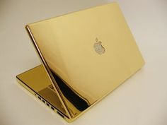 24kt Gold & Diamond Macbook Pro