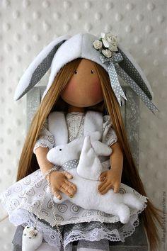 текстильные куклы своими руками - 27 Июля 2012 - Кукла Тильда. Всё о Тильде, выкройки, мастер-классы.