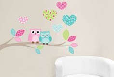 Packaged Size: x (Separate hearts and position as you wish) Princess Room, Vinyl Wall Art, Twiggy, Baby Essentials, Girl Room, Owl, Girly, Wallpaper, Kids