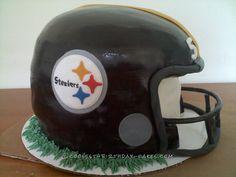 Coolest Football Helmet Cake... Coolest Birthday Cake Ideas