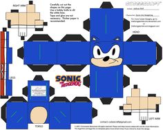VG 4: Sonic Cubee by TheFlyingDachshund.deviantart.com on @deviantART
