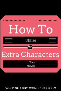 Are you frustrated because you have some extra characters in your novel, and you have no idea about what to do with them? Worry no more, because this article explains exactly what you can do to use those extra characters -- easily. How to Utilize the Extra Characters in Your Novel // Writing Abby