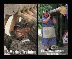 US marines / Sra trás-dos-montes