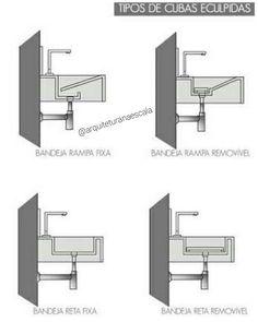 Cuba moldada,cuba esculpida,cuba escavada… são denominações que descrevem quando uma cuba (ou pia) - arquiteturanaescala Shop Interior Design, Bathroom Interior Design, House Design, Patio Design, Wc Public, Concrete Sink, Restroom Design, Wash Hand Basin, Toilet Design