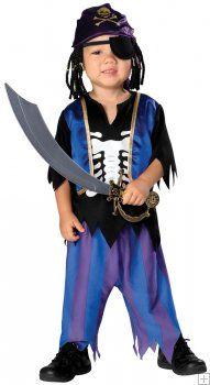 Toddler Skeleton Pirate Costume