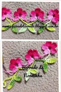 This Pin was discovered by Jud Col Crochet, Crochet Art, Tunisian Crochet, Thread Crochet, Crochet Gifts, Crochet Motif, Crochet Doilies, Crochet Flowers, Crochet Boarders
