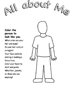 "All About Me coloring page.Luke 2:40, ""And the Child continued to grow and become strong, increasing in wisdom; and the grace of God was upon Him,"" Jesus grew and learned all about God and His ways and I am too."