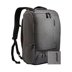 eBags TLS Professional Slim Laptop Backpack (Heathered Graphite) - http://www.newofficestore.com/ebags-tls-professional-slim-laptop-backpack-heathered-graphite/