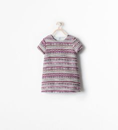 Image 1 of JACQUARD DRESS from Zara
