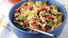 Try a vegetarian main-dish salad that's bursting with flavor and chock-full of vitamins.
