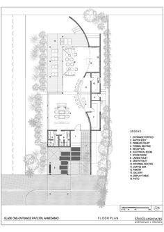 Visitors Entrance Pavilion at Glade One,Floor Plan