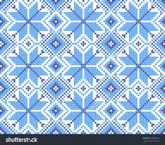 Seamless Embroidered National Ornament Stock Vector Illustratie 479866165 : Shutterstock