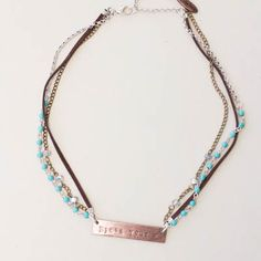Plunder Design offers chic, stylish jewelry for the everyday woman. Gifts For Teens, Gifts For Friends, Gifts For Mom, Turquoise Necklace, Beaded Necklace, Plunder Design, Things To Buy, Stuff To Buy, Jar Gifts