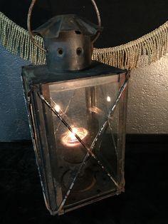 Primitive Antique Tin Candle Lantern $115 http://www.gothicroseantiques.com/PrimitiveAntiqueTinCandleLantern.html