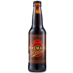 """Fireman's Brew Root Beer As they say, """"Extinguish your thirst!"""".. Made with all natural ingredients including Artesian water and real cane sugar, this root beer is very rich and creamy."""