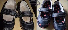 Schuhe mit Mod Podge und Stoff aufhübschen | Sewia.de