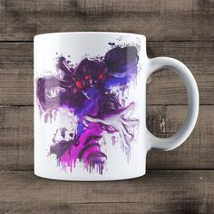 Widowmaker Coffee Mug, Overwatch Game Mug