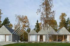 Vackert och futuristisk betonghus – Tham & Videgård Arkitekter  ‹ Dansk inredning och design