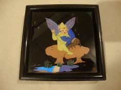 Art Deco Butterfly Wing Picture Pixie/Fairy | eBay, sold for £149.70
